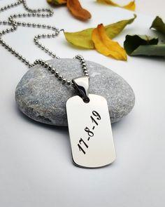 Dog Tags, Dog Tag Necklace, Jewelry, Jewlery, Jewerly, Schmuck, Jewels, Jewelery, Fine Jewelry