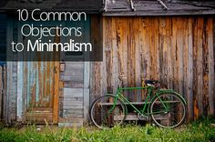 10 Common Objections to Minimalism