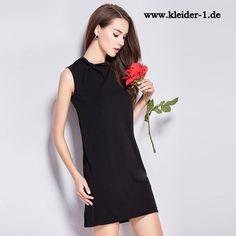 Mini Kleid Sommerkleid in Schwarz