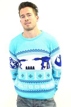 Star Wars Official AT - AT  Knitted Christmas Jumper - BAY 57  - 1