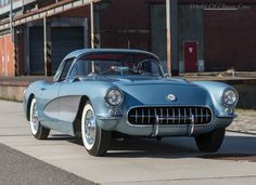 World Of Classic Cars: Chevrolet Corvette 1956 - World Of Classic Cars -