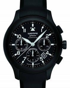 Wempe Zeitmeister Zeitmaster: Chronograph Aviator Watch Chronograph WM60 0003 Automatic ETA/Valjoux 7753