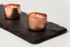 Image result for copper tealight candle holders
