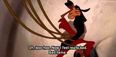 Kuzco might think those who live in poverty don't matter   How NOT To Treat The Poor And Vulnerable: The Emperor's New Groove Edition