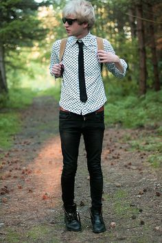 If we go out to the woods today... (by Charlieo Vandenbergio) http://lookbook.nu/look/4591263-If-we-go-out-to-the-woods-today