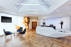 When the UK's National Lottery operator Camelot Group were looking to update their existing office space, they took the opportunity to review their way of working.