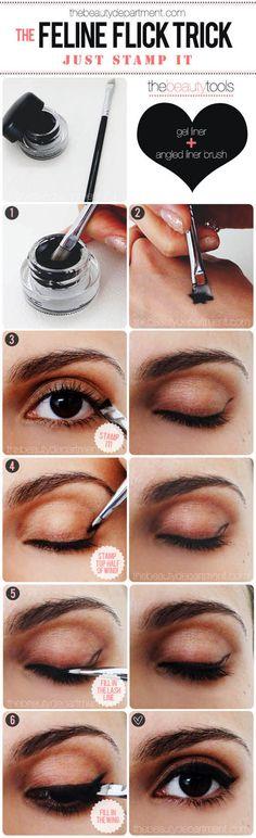 Feline Flick Trick Eye Makeup Tutorial #eyeshadow #makeup