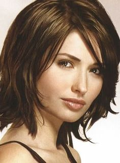 Medium bob haircut - this is supposed to be my haircut, but doesn't look like this at all.  :(