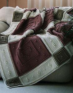 Crochet-BE MINE pattern for crocheted blanket $5.00