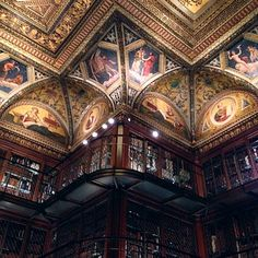 Book lovers will swoon at these beautiful old libraries, including the Morgan Library & Museum in New York, NY.