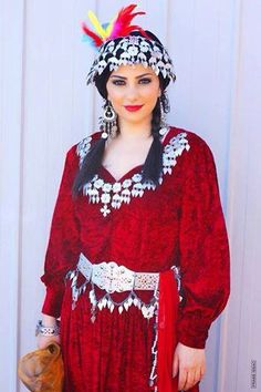 Assyrian traditional clothing.