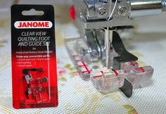 I need this presser foot! I wonder if the Janome store near me carries it or if I have to buy it online.