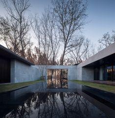 HE-Restaurant / GOA / Tangshan Residential District, Jiangning, Nanjing, Jiangsu, China Modern Landscape Design, Landscape Plans, Modern Landscaping, Landscaping Software, Landscaping Design, Contemporary Landscape, Ancient Architecture, Landscape Architecture, Architecture Design