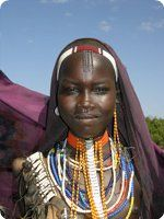 Omo Valley Tribeswoman