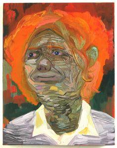 Dana Schutz - SELF PORTRAIT AS A PACHYDERM  2005