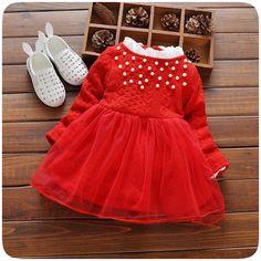 Otoño novedad cuello de encaje niñas vestido de malla patchwork vestido tutú de las muchachas rojas peral infantil niñas vestidos de la princesa vestidos(China (Mainland))