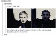 Sherlock would do anything for John.