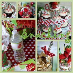 Snack for Art Party http://alittleloveliness.blogspot.com/2010/12/christmas-p-art-y.html