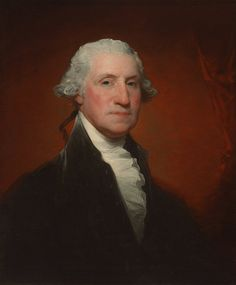 Gilbert Stuart, George Washington (Vaughan-Sinclair portrait), American, 1755 - 1828, 1795, oil on canvas