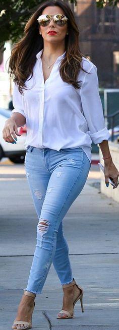 341a7b2a5dc30 o que vestir quando você não tem o que vestir Ideias Para Trajes, Calças  Jeans
