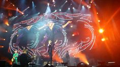 The Rolling Stones on stage in Madrid, June 25th. 2014