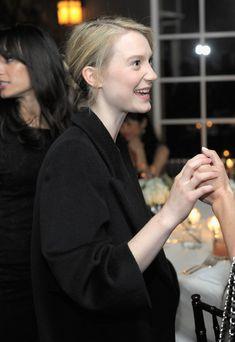 Mia Wasikowska Photos Photos: Ermenegildo Zegna Dinner To Support Oxfam America, Mia Wasikowska, Chateau Marmont, Green Carpet, Cameron Diaz, Alice, How To Clean Carpet, Vanity Fair, Pop Culture, Hollywood