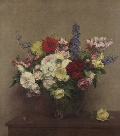 Still life painting by Ignace-Henri-Théodore Fantin-Latour, 1886.. Beautiful quality, we've designed our blinds so that your image can be seen from top to toe