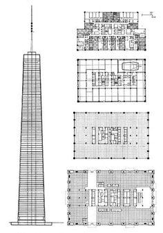 The John Hancock Center. Chicago SOM Bruce Graham 1970