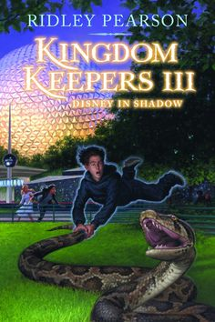 Kingdom Keepers III,  Disney in Shadow by Ridley Pearson