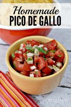 Homemade Pico de Gallo Recipe The top reasons for making homemade meals is mainly how detailed you can get. Every piece of a meal can be hand crafted the way you want to. These type of recipes usually take longer because you are carefully flavoring and hand crafting every piece from scratch. It can be … Continue reading »