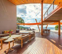 Breezy Beautiful: 5 Indoor-Outdoor Living Spaces - CeiloMar, Costa Rica
