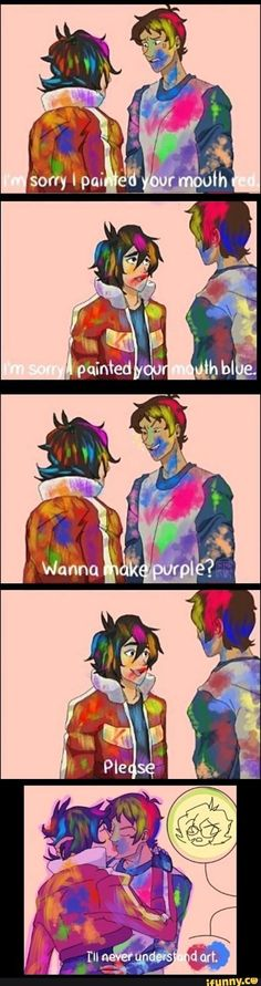 #wattpad #losowo JUST SOME SHIP PICTURES AND COMICS!!' THERE IS KLANCE , JERCY , PERJASCICO , SOLANGELO , AND PERCICO !!!