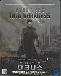 Star Trek Into Darkness Blu-ray 3D 2D Steelbook Limited Edition Korea Version – Kpopstores.Com Khan Benedict, Benedict Cumberbatch, Spock Zachary Quinto, Noel Clarke, Peter Weller, Bruce Greenwood, John Cho, Anton Yelchin, Simon Pegg