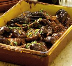 Try this traditional coq au vin recipe with a fruity twist from BBC Good Food. Plum Tomatoes, Cherry Tomatoes, Bbc Good Food Recipes, Meat Recipes, Cooker Recipes, Yummy Recipes, Chicken Recipes, Wine Sauce, Coq Au Vin