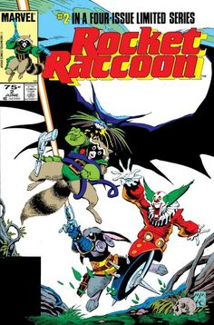 """Rocket Raccoon #2 """"The Masque of the Red Breath"""" (June, 1985)"""