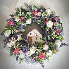 Floral Wreath, Wreaths, Handmade, Instagram, Home Decor, Deco, Fall, Hand Made, Decoration Home