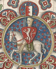 Simon de Montfort, 6th Earl of Leicester (c. 1208 – 4 August 1265), also called Simon de Munford and sometimes referred to as Simon V de Montfort to distinguish him from other Simons de Montfort, was a French-English nobleman who inherited the title and estates of the earldom of Leicester in England. He led the rebellion against King Henry III of England during the Second Barons' War of 1263–64, and subsequently became de facto ruler of England.