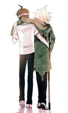 Hajime and Nagito