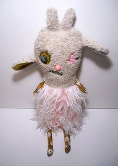 Monster Gabriele | Little monsty goat girl. Etsy shop. | JunkerJane a.k.a Catherine Zacchino | Flickr