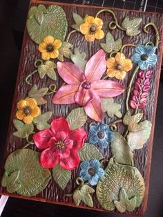 Luna Blue Creations: Polymer Clay Covered Journal