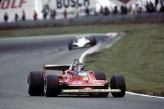Gilles Villeneuve, Ferrari 312T4, 1979 Dutch GP, Zandvoort