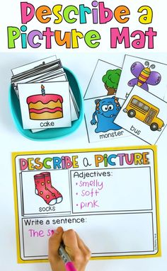 1st Grade Writing, Kindergarten Writing, Teaching Writing, Teaching English, Teaching Kids, Literacy, English Activities For Kids, English Lessons For Kids, Preschool Learning Activities