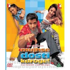 Mujhse Dosti Karoge Bollywood DVD With English Subtitles