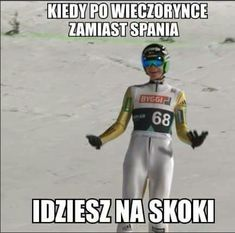Very Funny Memes, Ski Jumping, Skiing, Jumpers, Humor, Baseball Cards, Nu Goth, Sports, Funny Stuff