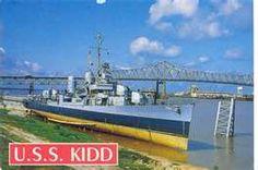 U.S.S. Kidd, Naval Destroyer & Museum. Baton Rouge, LA.