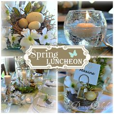 Dining Delight: How to Set a Pretty Spring Tablescape