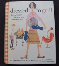 $3.00 - Dressed to Grill 2002 HC inside spiral (101616-1339) grilling cookbooks