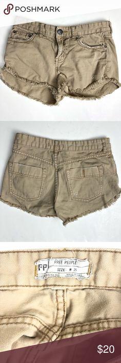 Vans Juniors Cream Denim Zip Mini Short