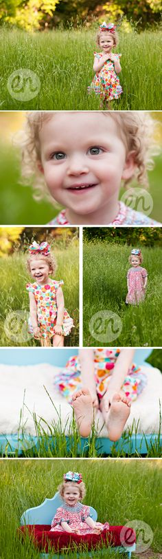 A sweet little girl--photography