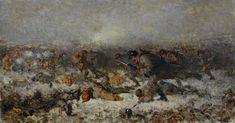 """Nicolae Grigorescu. """"attack attack"""". 1878  ·"""